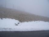 Schnee am Mont Ventoux