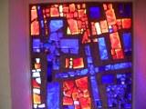 Kirchenfenster in der Erlöserkirche Karlsruhe