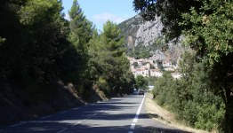 Straße in Südfrankreich