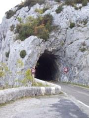Straßentunnel inFrankreich