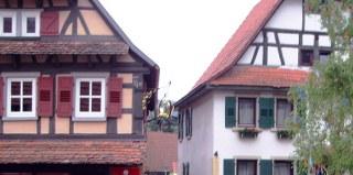 Alte Krone + Haus Hildwein 2009 in Diefenbach