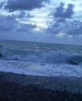 Strand, Meer, Wolken /Türkei 2007