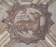 Lamm Gottes, Notre Dame, St.-Jean-de-Maurienne, Frankreich