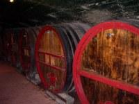 Weinkeller in Burgund