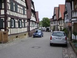 Straße in Diefenbach
