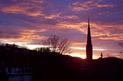 Sonnenuntergang Kloster Maulbronn