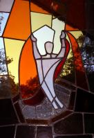 Auferstehungsfenster, Friedenskirche, EmK Bruchsal