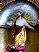 Segnender Christus Spitalkirche Sonthofen