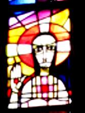 Ausschnitt Kirchenfenster, Eltville St. Peter und Paul